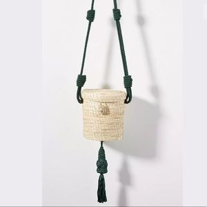 New Anthropologie Palma Canaria Knotted Bucket Bag